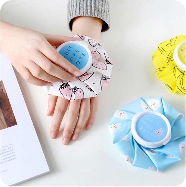 best selling Cute Cartoon Ice Bag Fever treatment Summer cooling Healthcare Sport Injury Reusable Knee Head Leg Muscle heat ice compress bags C1967
