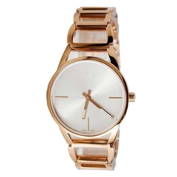 Casual moda mujer relojes de cuarzo geometría marco cuadrado pulsera reloj correa de acero inoxidable relojes de lujo venta al por mayor
