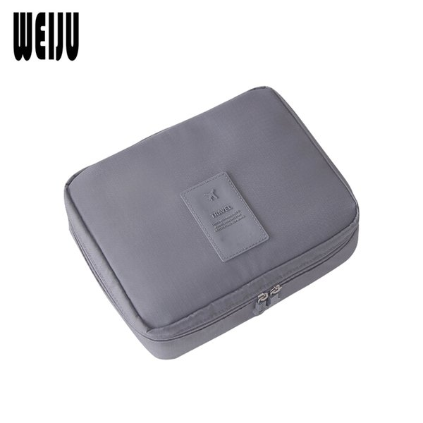 Wholesale- WEIJU Cosmetic Bag 2017 New Multifunction Women Make Up Bag Fashion Brand Organizer For Cosmetics Ourdoor Travel Bags