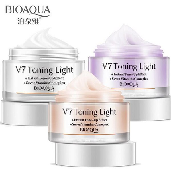 BIOAQUA cream instant tone up effect new face cream vitamins complex repair face skin care day creams & moisturizers face care