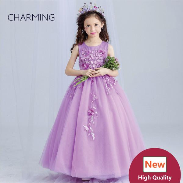 Purple wedding dresses for teens High quality designer dresses Dresses real photo Fancy dress China wedding dress