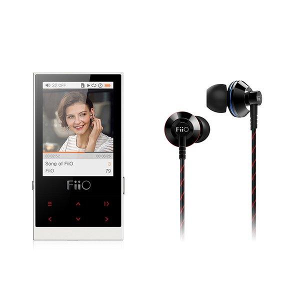Großhandels-FiiO Bündel-Installationssatz-Musik-Spieler M3 mit Kopfhörer EX1II