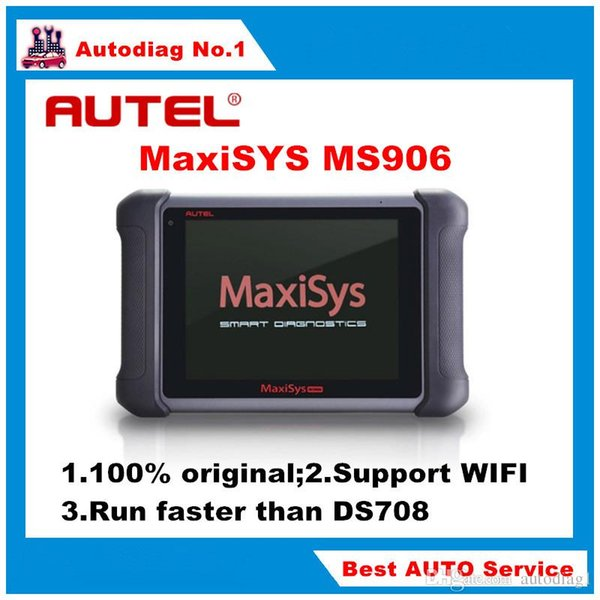 Original AUTEL MaxiSYS MS906 Auto Diagnostic Scanner Next Generation of Autel MaxiDAS DS708 In stock