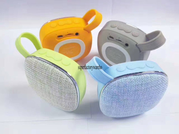 Cloth pattern Bluetooth speaker portable outdoor mini speaker subwoofer card Bluetooth audio X25