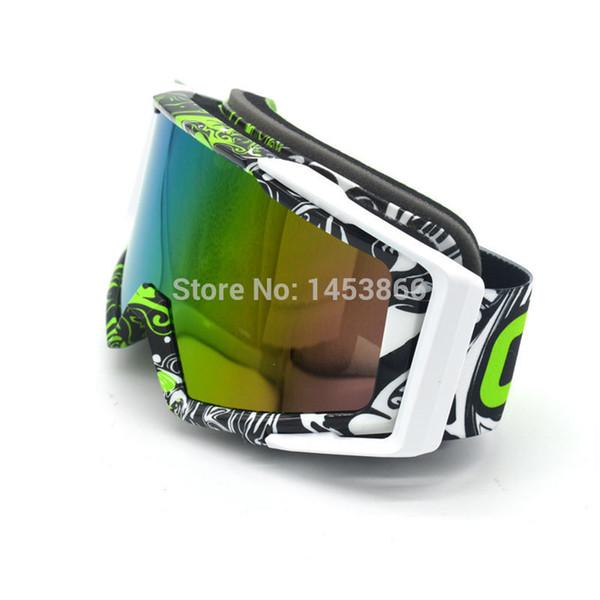 Graffiti Motorrad Racing Goggles Staubdicht Radfahren Fahrrad Motocross Outdoor Google Motorrad Brillen Goggle
