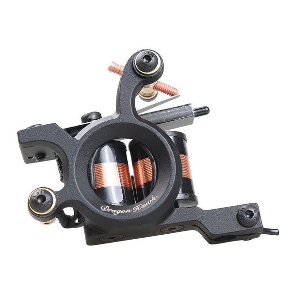 Coll design & best selling tattoo coil machine shader gun 12 wraps coil WQ4463 high qaulity alloy frame