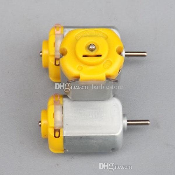 top popular 1 Pc DC Hobby Motor Toy Motor DC Motor Type 130 for Robotic B00232 JUST 2021