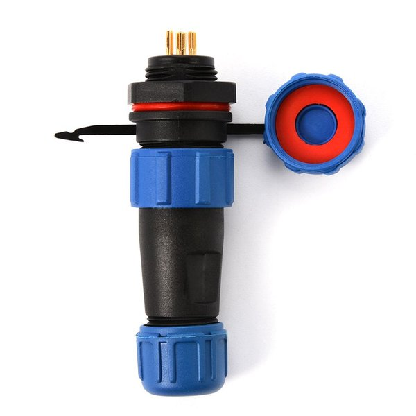 SP13 Waterproof Connectors 6 Pin Wire to Wire Connector Circular Connectors Device Power Plug Socket BI250