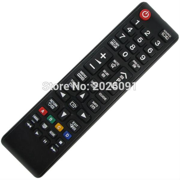 Wholesale- (1 pezzi / lotto) Spedizione gratuita per Samsung TV Telecomando UE40F8005ST, UE40F8090SL, UE46F6330AK, UE46F6400AK, UE46F6400AW