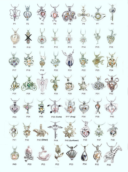 best selling 18kgp Fashion love wish pearl  gem beads locket cages, lovely DIY charm pendant mountings wholesale 100pcs lot (can mix different styles)
