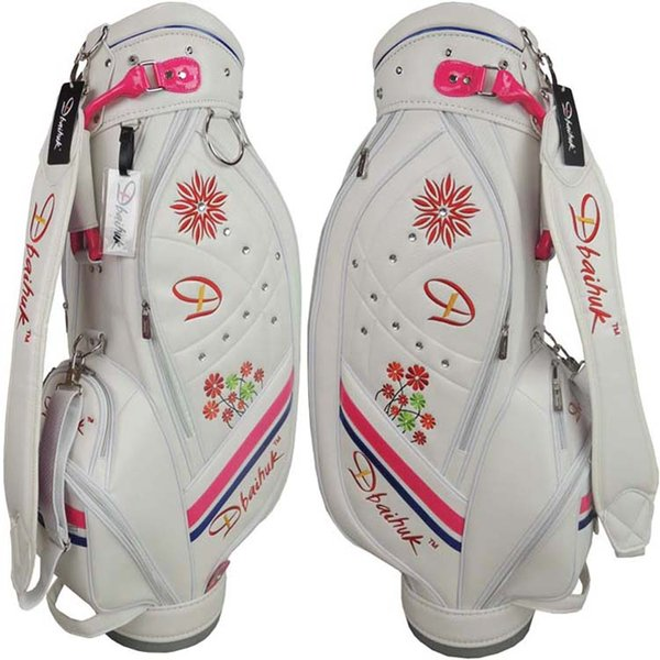 best selling Wholesale- Free shipping 2016 NEW Dbaihuk golf ball bag, pu golf bag,woman's golf clubs bag