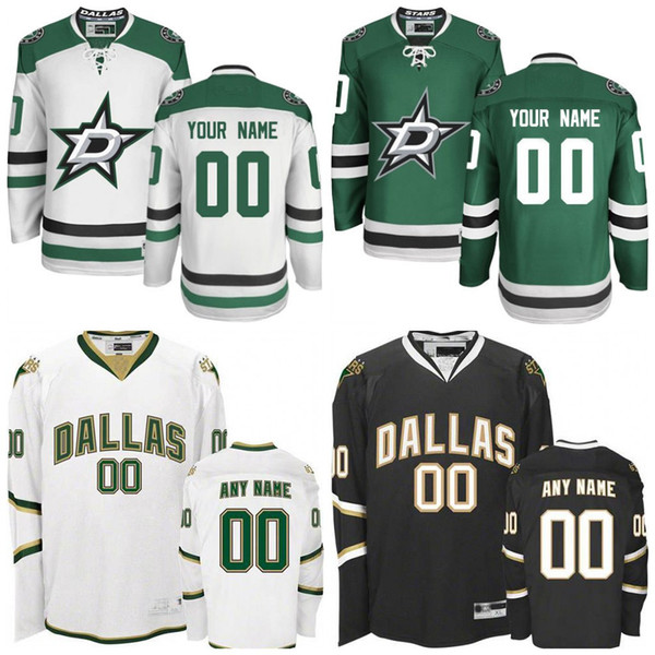 sale retailer 6a213 a6d6b 2019 Cheap Hockey Jerseys Dallas Stars Custom Men'S Women Dallas Stars  Jersey Any Name Any Number, Personalized Ice Hockey Jerseys Stitched From  ...
