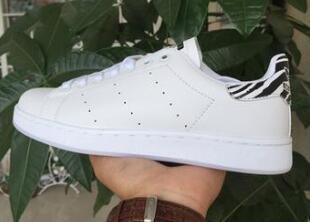 Alta calidad 2017zebra rayado tan zapatos de los hombres y las señoras de moda calzado deportivo zapatos deportivos ocasionales amante Smith zapato Zapatos Mujer de gran tamaño