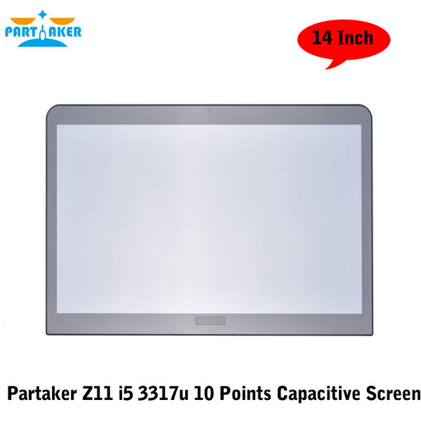 Partaker Elite Z11 14 Inch Desktop Intel Core I5 3317u 10 Points Capacitive Touch Screen PC