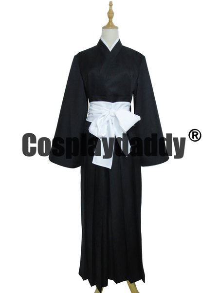 Bleach Kuchiki Rukia Soul Reaper Uniform Cosplay Halloween Costume