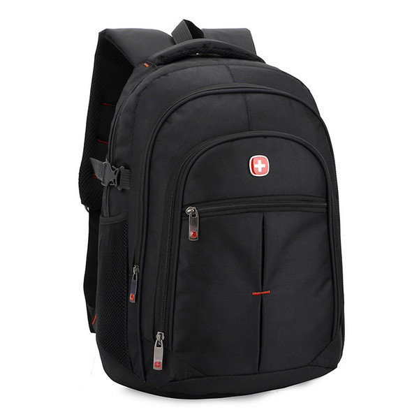 96981ebf4462 Wholesale- waterproof oxford swiss Backpack Men 15 inch Laptop bag sac a  dos men backpacks Travel school outerdoor Business bags