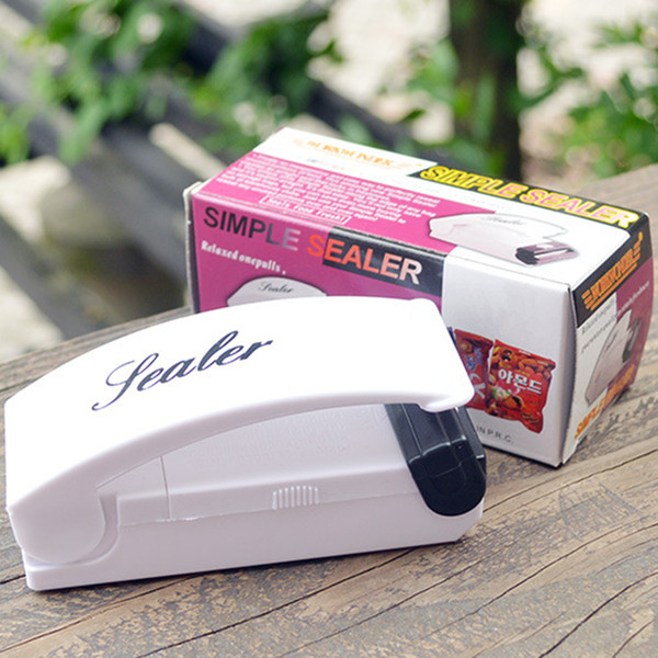 Sealer Seal Machine Vacuum Food Sealer Handheld Super Mini Airtight Sealing Sealer with Magnetic Base for Plastic Bag Food Save with Box