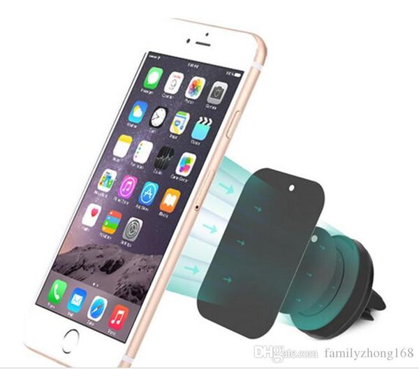 Kfz-Halterung, Lüftungsschlitz Magnetische Universal Kfz-Halterung für iPhone 6 / 6s Einstufige Montage Verstärkter Magnet Einfacheres und sichereres Fahren C-ZJ