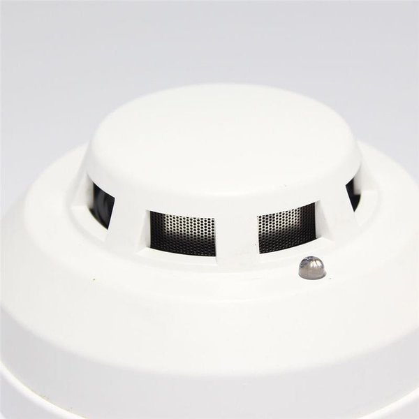 Wholesale- New Brand Wired Networking Sensor Smoke Detector For Sale/Optical Host components Smoke Detector Alarm For gsm alarm system