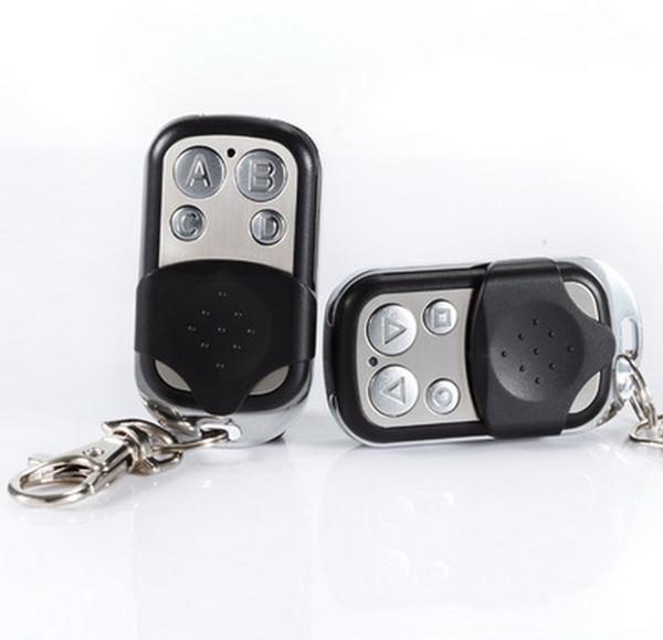 Оптовая торговля-по dhl 200 шт. пульт дистанционного управления Fob 433 МГц ключ Универсальный для Worldwide Gate гараж электрические двери клонирования 433 МГц фиксированный код брелки