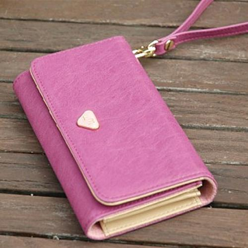 Wholesale- 2016 Fashion Lady Accessories Envelope Card Coin Wallet Leather Purse Case Cover Bag Carteira 9IGR