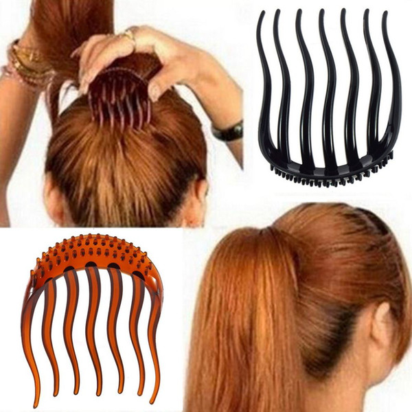 Useful Volume Inserts Hair Clip Bumpits Bouffant Pony tail Hair Comb Bun Hot