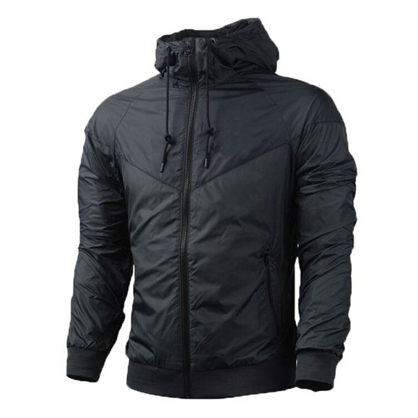 top popular Two Piece of Fall thin windrunner 2017 fashion Men and Women Pullover Hoodies light Windbreak Free shipping zipper hoodie 2019