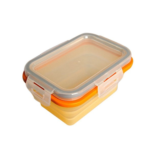 2019 Silicone Collapsible Portable Lunch Box Bowl Bento Boxes