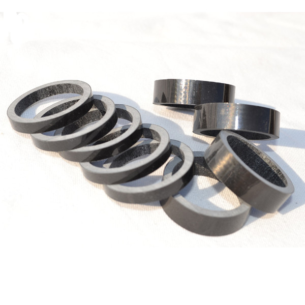 10//15//20mm Headset Spacers MTB Road Bike Carbon Fiber Washer for 1-1//8 Fork Matt