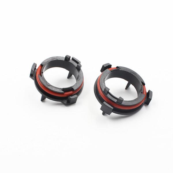 top popular H7 LED Adapter For OPEL Astra Honda CR-V Car H7 LED Headlight Bulbs Adapter Base Holder for Mazda for VW saveiro 2019