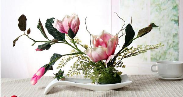 Modern San Sheng Lucky Shape Ceramic Vase for Home Decor Tabletop Vase manycolors