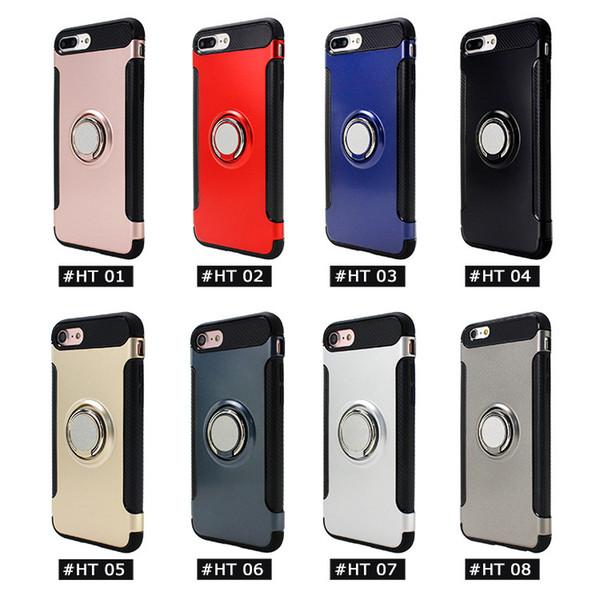 outlet store sale 69f6f bd068 Verus Ring Bracket Case Armor Slim Smart Phone Case For Samsung Galaxy S7  S7edge S8 S8plus,J520 J720 J730,J7 Prime Shockproof PC+TPU+Metal Best Cell  ...