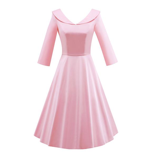Compre Vintage De Las Mujeres Audrey Hepburn Estilo Años 50 3/4 ...