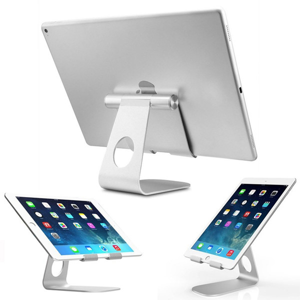 270 Degree Rotatable Aluminum Desktop Tablet Stand Holder Dock Cell Phone Holder for iPad Pro Air Mini 4
