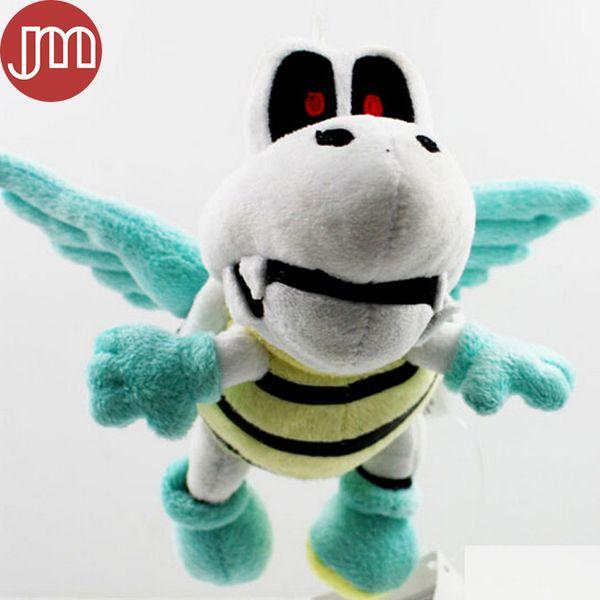 "New Super Mario Flying Tortoise Skeleton Bone Turtle Plush Soft Toy Stuffed Animal Doll Kids Gift Approx 15cm/6"""