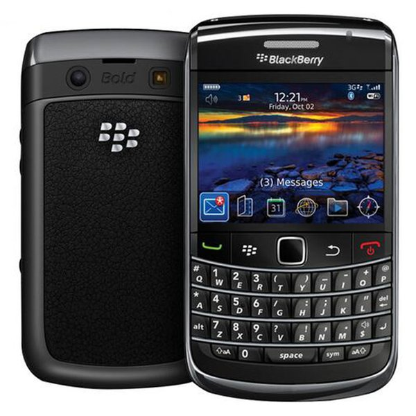 Refurbished Original Blackberry Bold 9780 Unlocked 2.44 inch 5MP Camera Qwerty Keyboard WIFI GPS Bluetooth 3G Network Mobile Phone DHL 5pcs