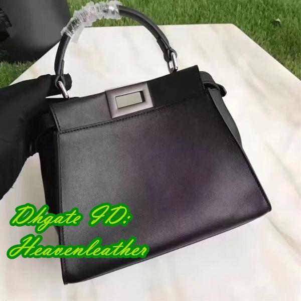 DFY- factoryoutlets !!! black color best Aquality Totes . 100% calfskin and python designer bag. women fashion Totes bags. sizel:33cm///23cm