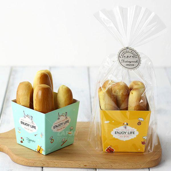 2020 Carrot Bread Cake Packaging Bags