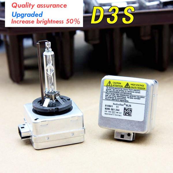 best selling New D3S 6000K HID Xenon Bulbs Auto Headlight 12V 35W D3S HID Bulb Car 12V D3S Xenon Bulb Light