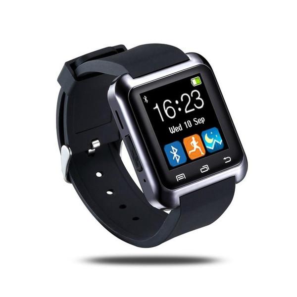 Bluetooth u8 Akıllı Izle Kol Saati U8 Izle Akıllı İzle Spor Bilek Saatler iPhone Samsung Android Telefon Akıllı Telefonlar için
