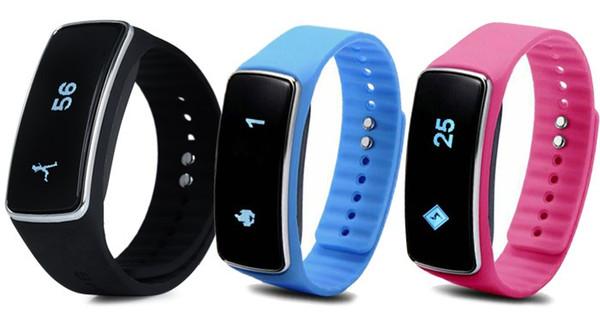 Braccialetto astuto V5 dello schermo di tocco dell'OEM di prezzo di fabbrica, braccialetto intelligente sano dell'inseguitore di forma fisica per l'androide di Samsung
