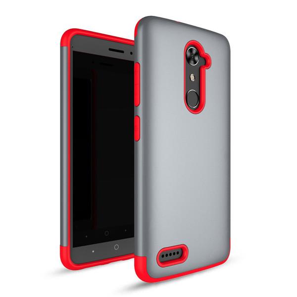 Zırh Hibrid Vaka Için iphone 8 Için samsung galaxy note 8 ZTE MAX XL n9560 LG K20 ARTı Darbeye Dayanıklı Sağlam Kapak