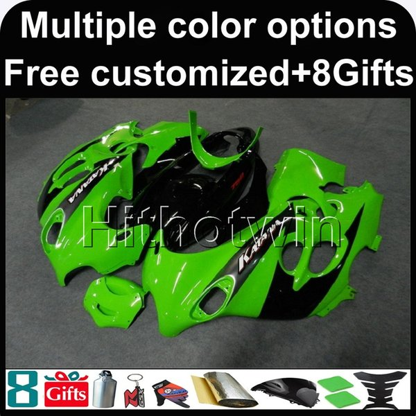 23colors + 8Gifts GREEN cowl per moto per Suzuki GSX600F Katana 2003-2006 GSX600F 03 04 05 06 GSX 600F ABS Plastic Fairing