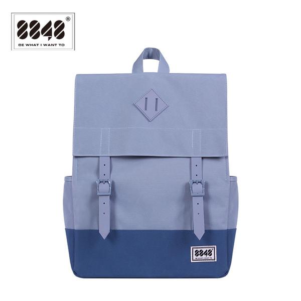Wholesale- 8848 Brand Backpack Backpacking Men Women Shoulder Bag Pattern Solid Laptop Hot Sale Resistant Oxford Wight Single 173-002-009