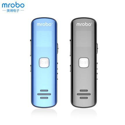 Wholesale- Mrobo F1 Mini Recordin Digital Audio Sound Voice Recorder Gravador De Voz Espia MP3 Player 8G Dictaphone + earphone