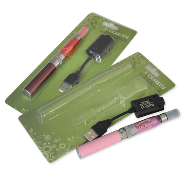 Hot CE4 Electronic Cigarette Blister kits CE4 ego starter kit 650mah EGO-T battery E-cigarette blister kit