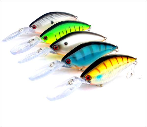 Deep Dive Crank Bait Fishing Lure 18g/11cm Long Range Casting Bait Artificial Minnow Lures Wobblers