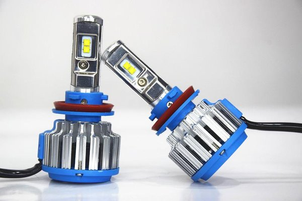 Hot sale LED ALL-in-One Headlight Conversion Kit H8 35W 3500LM Headlamp Replace HID Xenon Kit Auto Bulb Lamp Light Free shipping