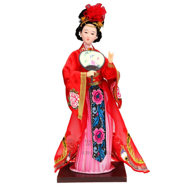 Home Furnishing ornaments decorations crafts folk style gift pure Handmade new four beauty Yang Guifei