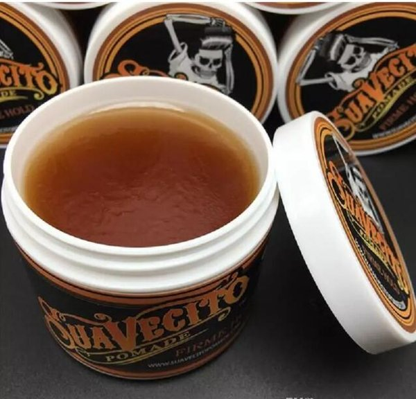 best selling High quality Suavecito Pomade Strong style Restoring Ancient Ways Hair Wax Slicked Back Oil Wax Mud Best skull Keep Very Strong Hold DHL